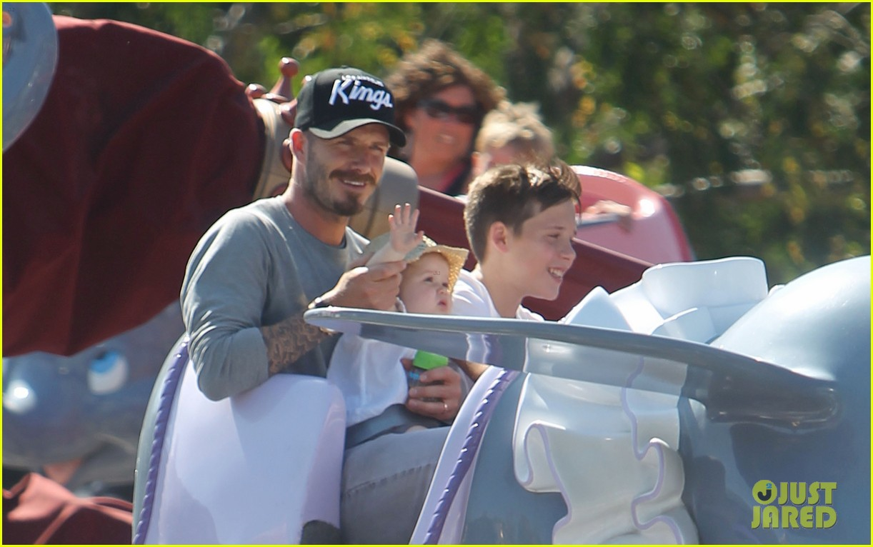 beckham family disney day 01