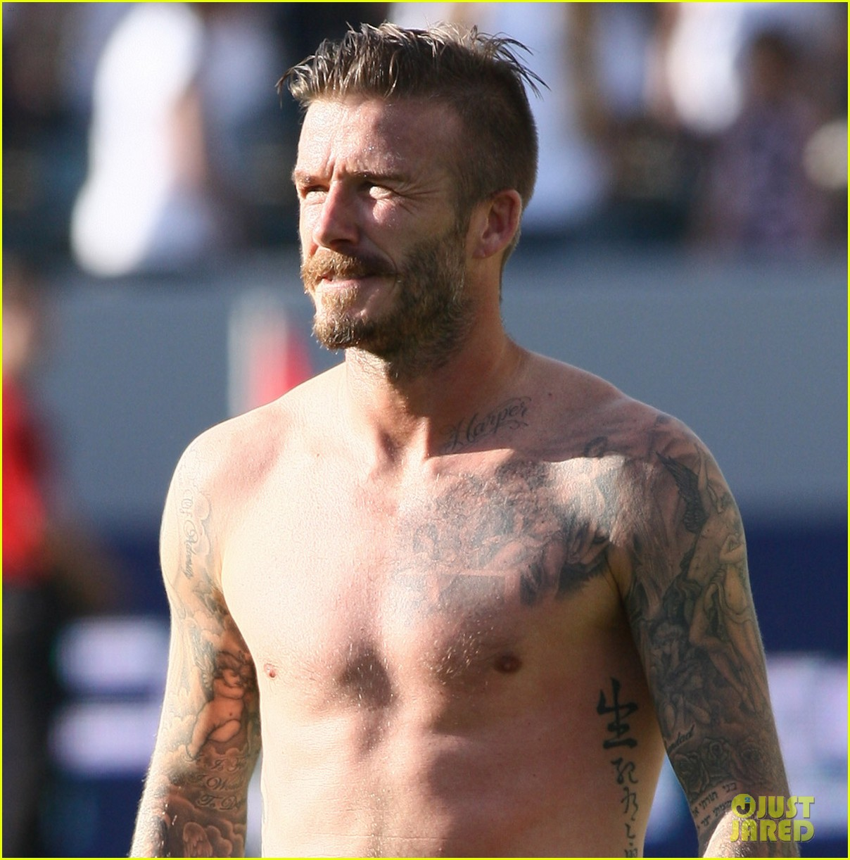 david beckham shirtless timbers game 03