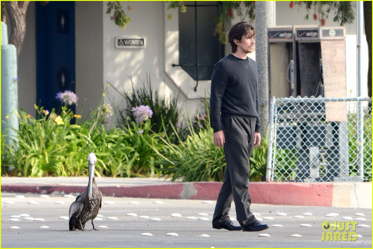 Christian Bale & Wes Bentley: 'Knight of Cups' at the Dock Christian Bale