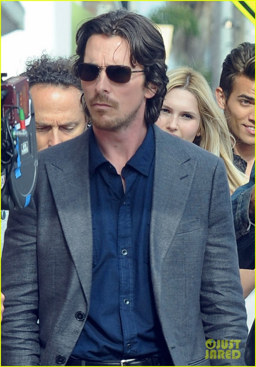 Christian Bale & Cate Blanchett: 'Knight of Cups' Set! Cate Blanchett