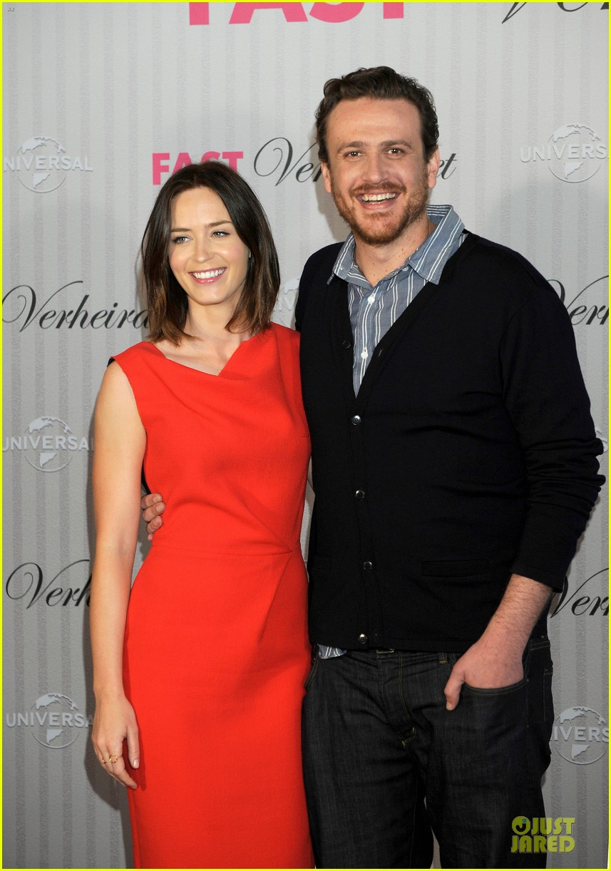 emily blunt jason segel five year engagement germany 07