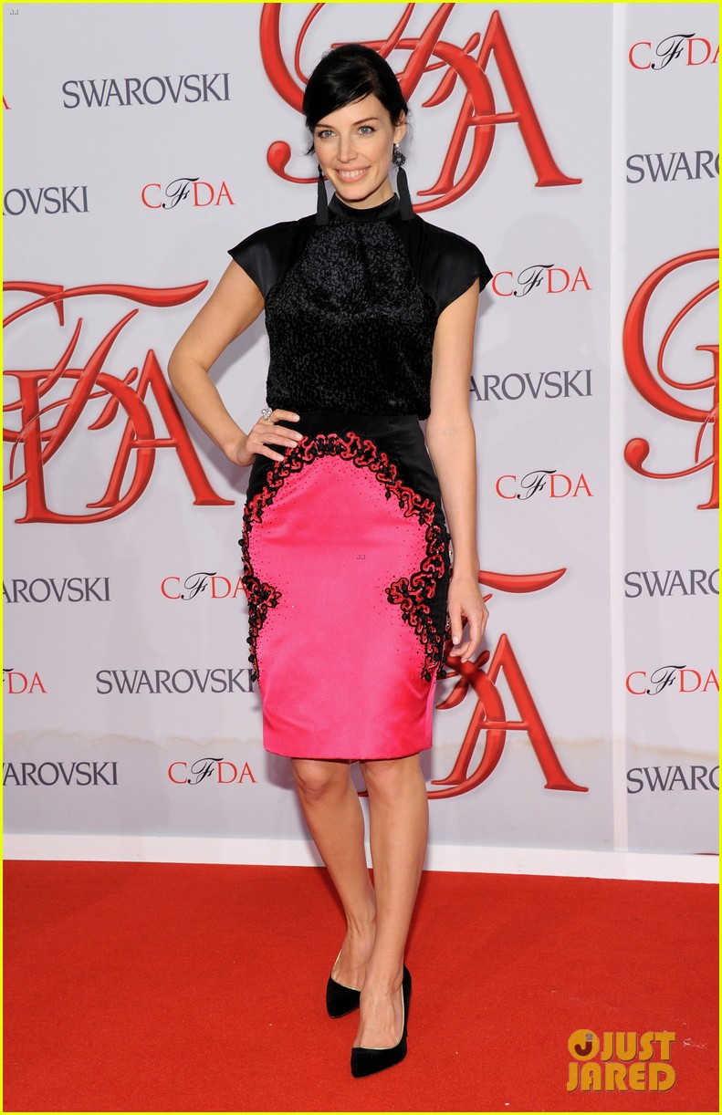 matt bomer jessica pare cfda fashion awards 2012 13