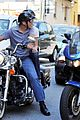 george clooney stacy keibler motorcycle lake como 08