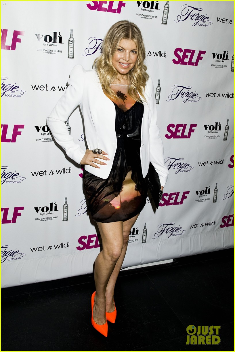 fergie self magazine launch party 10
