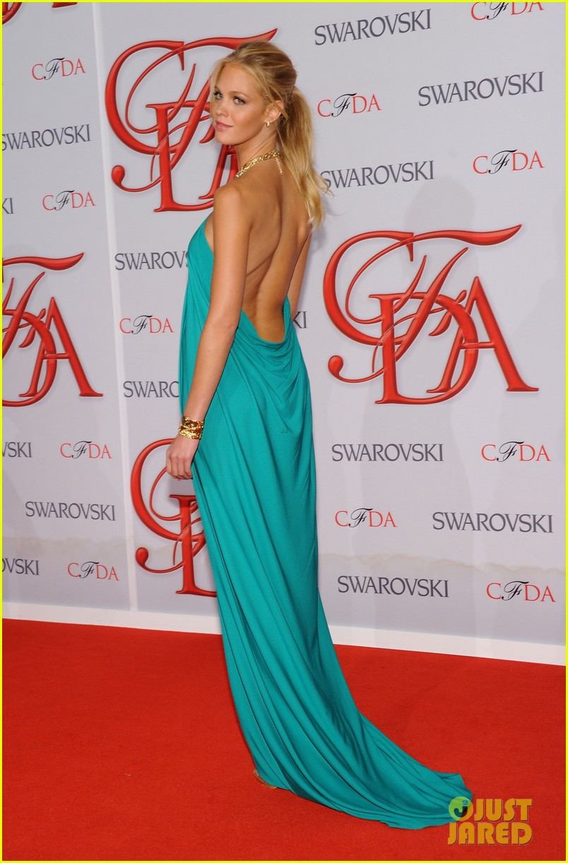 erin heatherton selita ebanks cfda fashion awards 2012 15