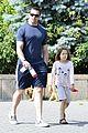 hugh jackman fathers day walk 04