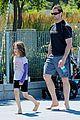 hugh jackman fathers day walk 08