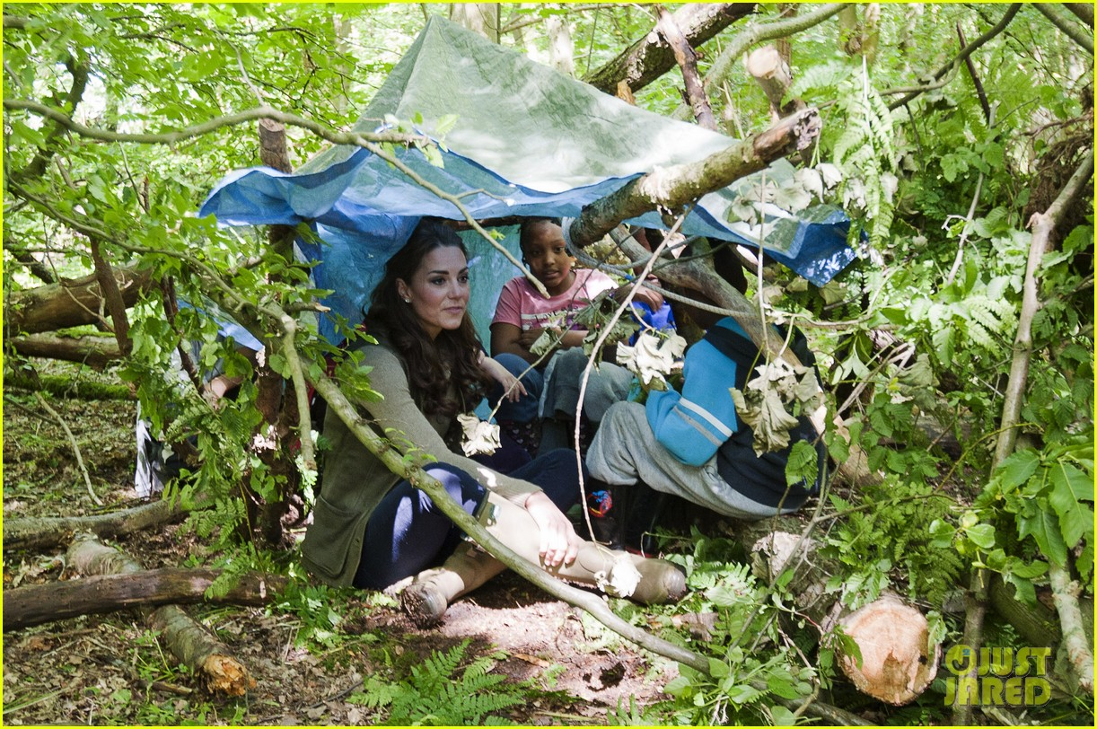duchess kate camping trip 12
