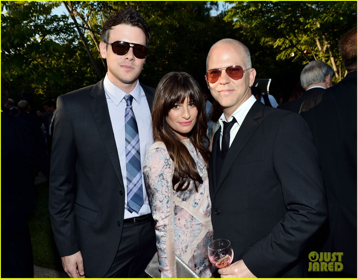 lea michele chrysalis butterfly ball with cory monteith 12