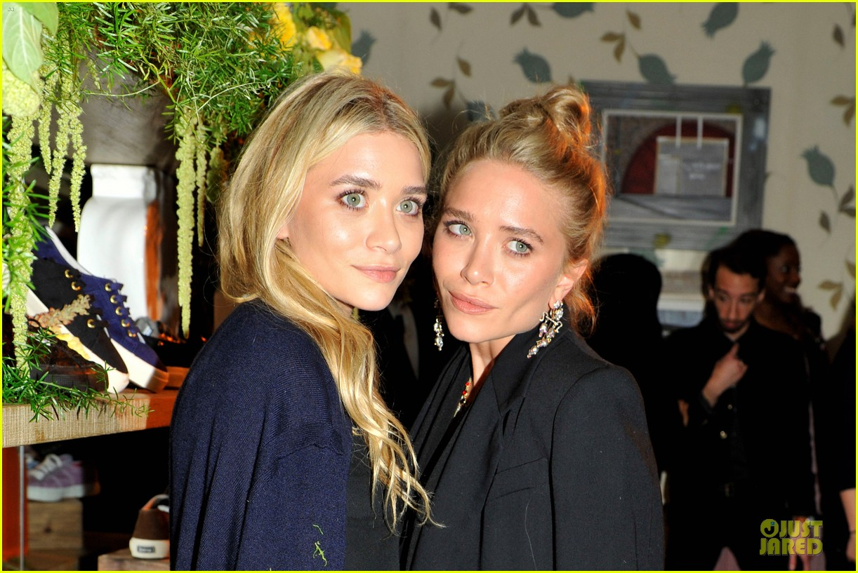 ashley mary kate olsen superga launch 04