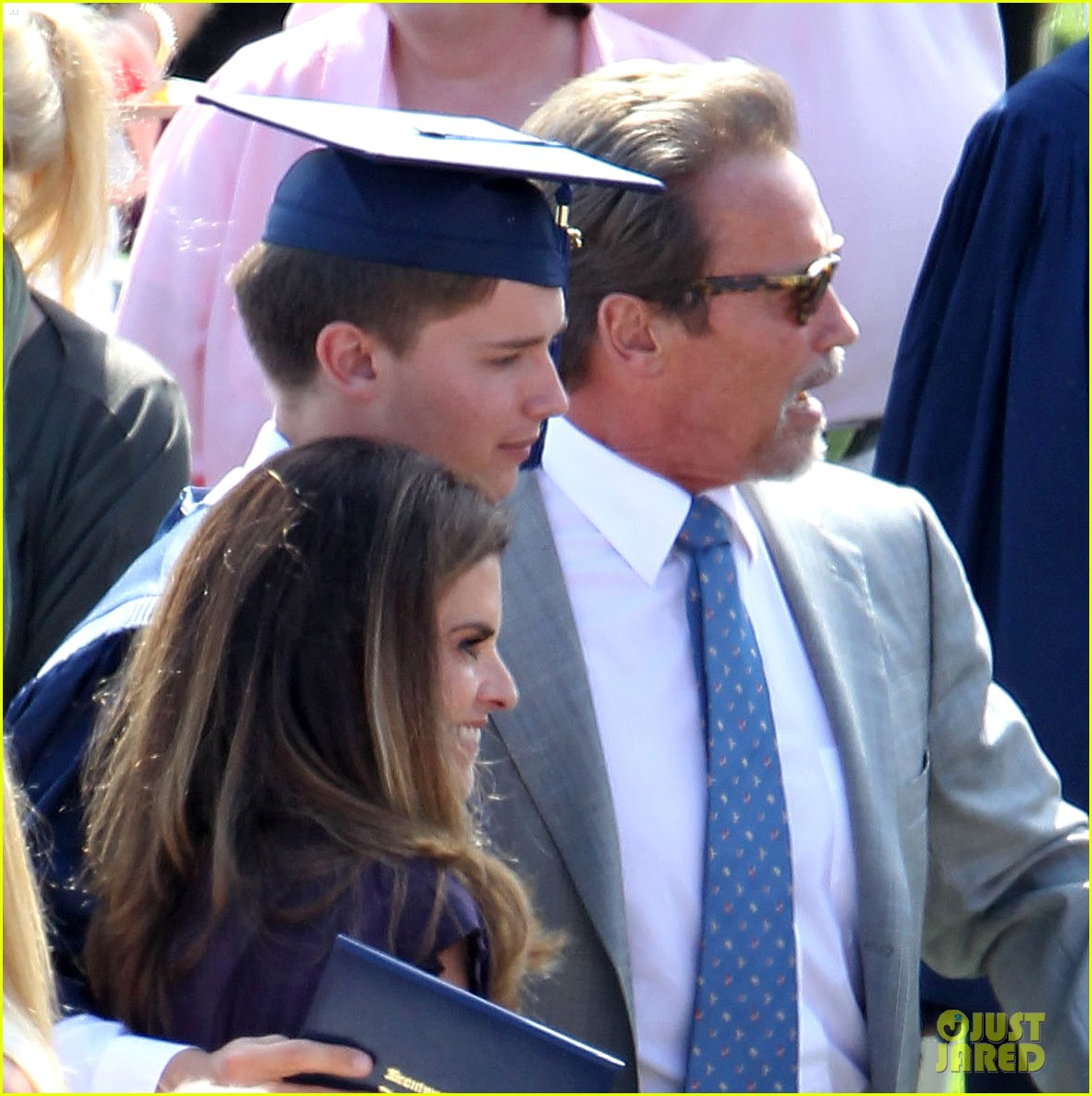 patrick schwarzenegger high school graduation 02