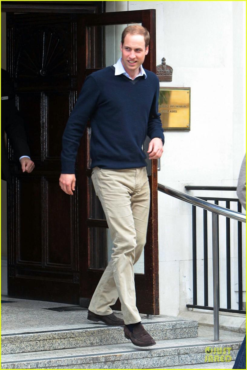 prince william harry visit grandfather hospital 07