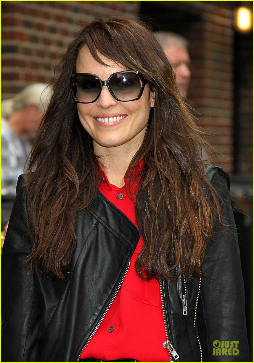 noomi rapace michael fassbender letterman today 07