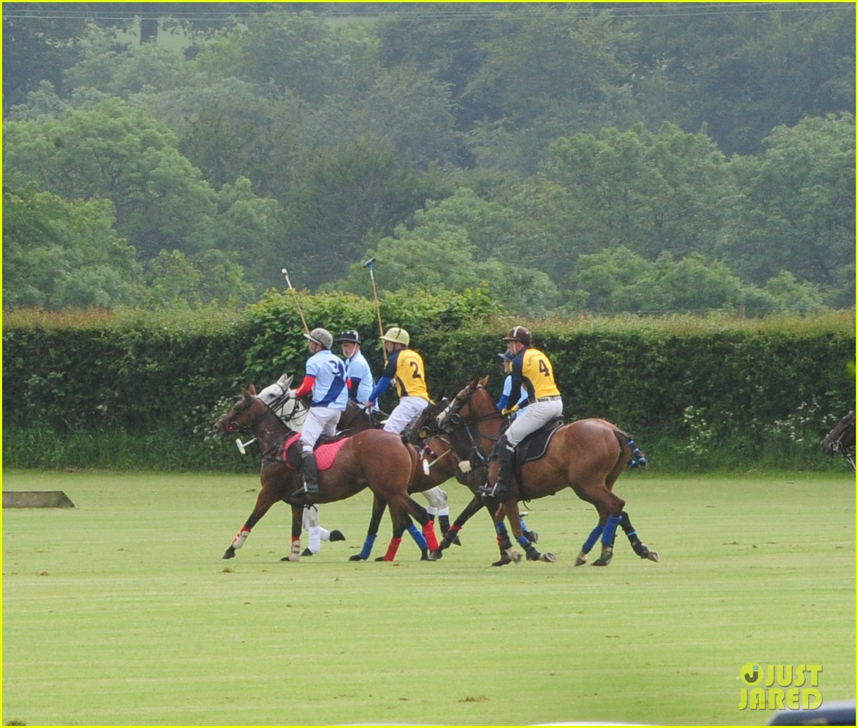 princes harry william charity polo match 02