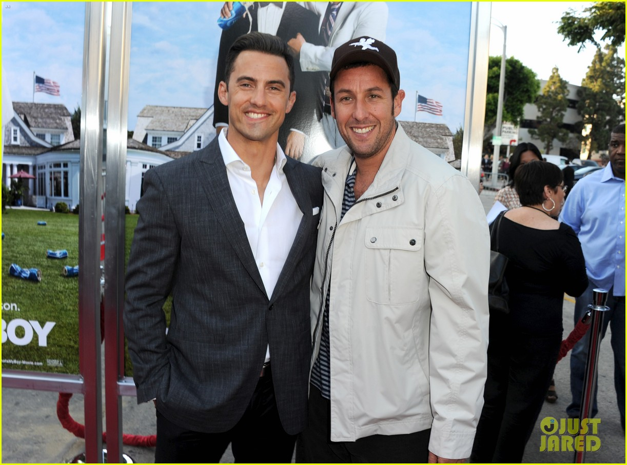 adam sandler andy samberg thats my boy premiere 14