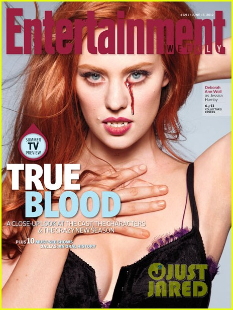 alexander skarsgard true blood cast covers entertainment weekly 06