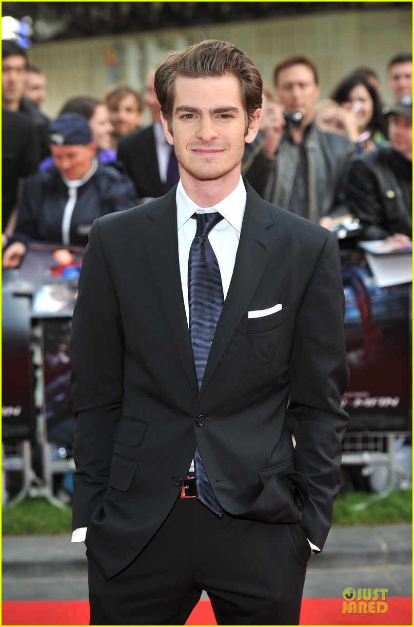 emma stone andrew garfield spider man london 082676662