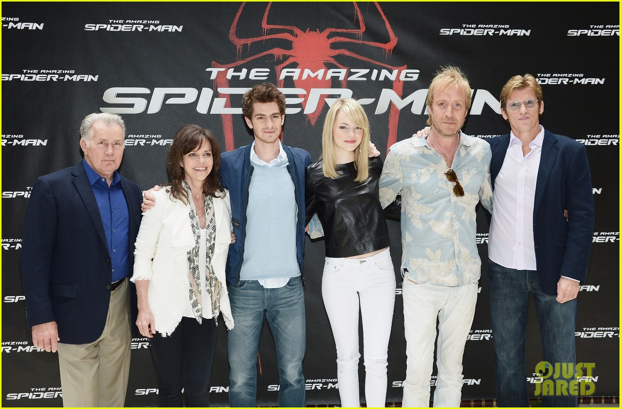 stone spider man photo call 01