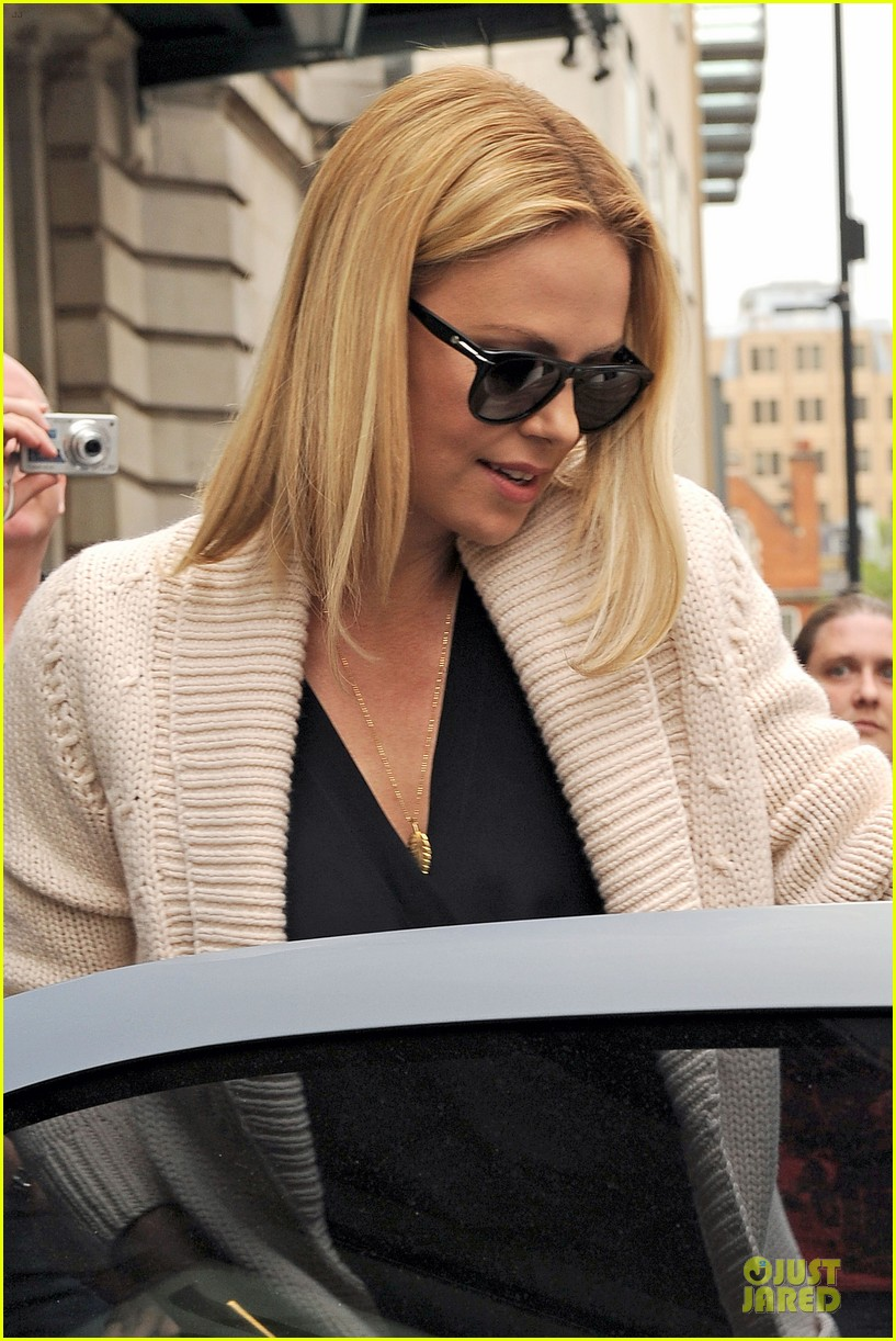 charlize theron claridges london 02