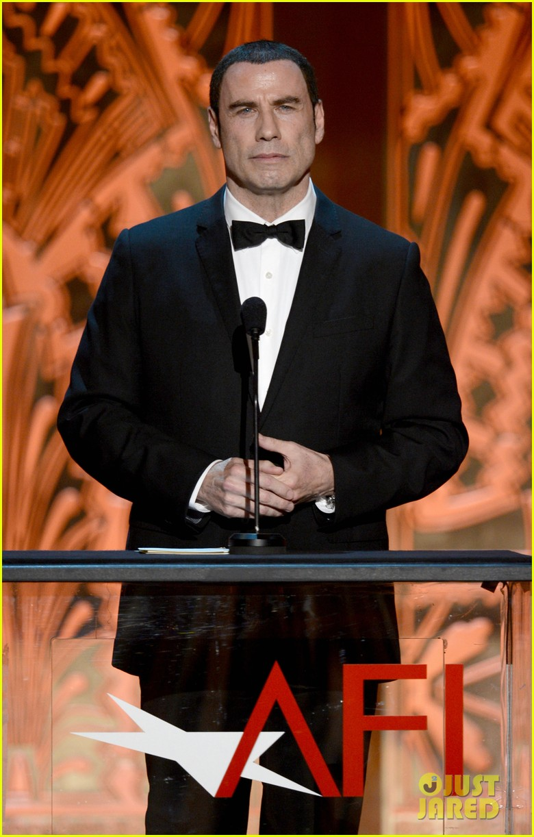 john travolta afi life achievement 01