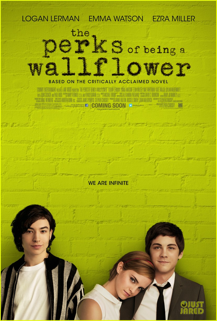 emma watson perks wallflower poster