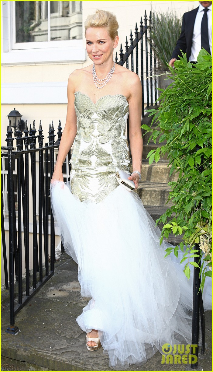 naomi watts white tie tiara ball london 01
