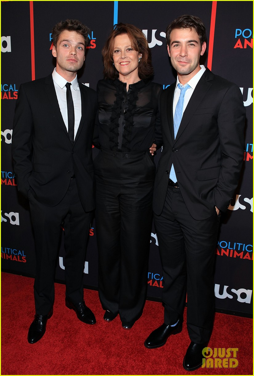 sigourney weaver sebastian stan political animals screening 06