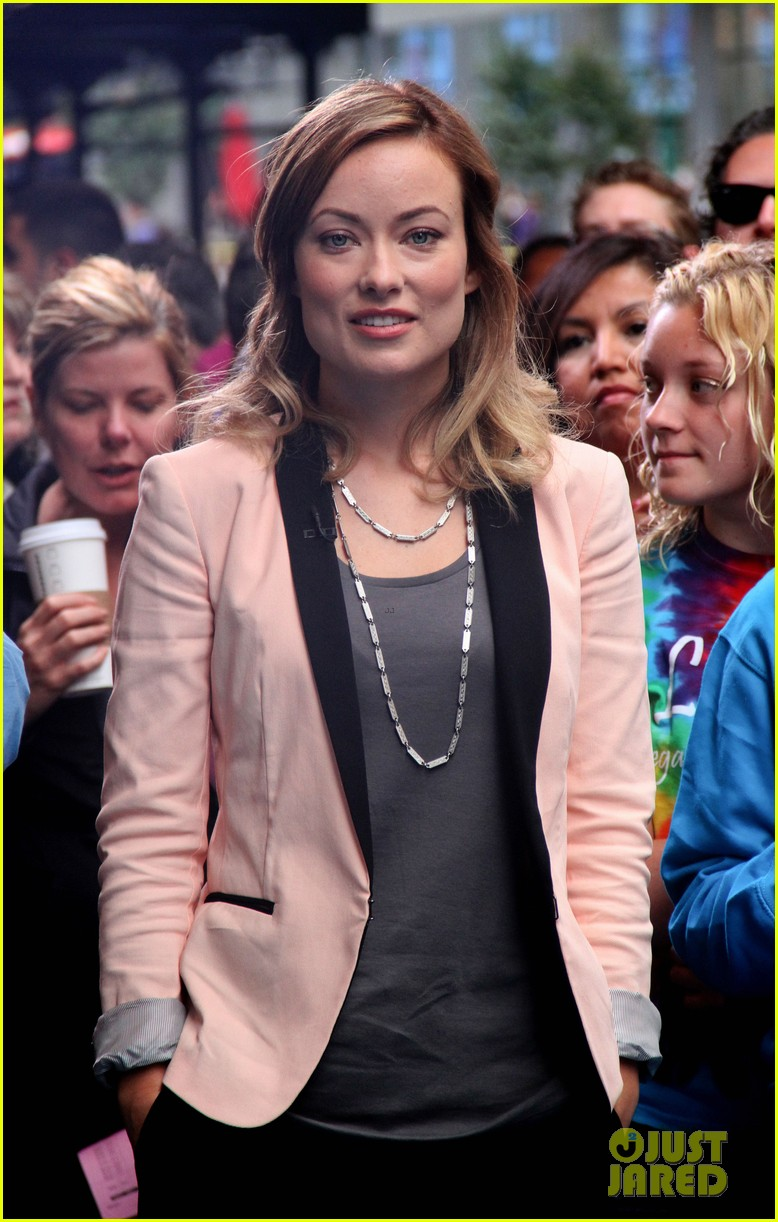 olivia wilde good morning america 08
