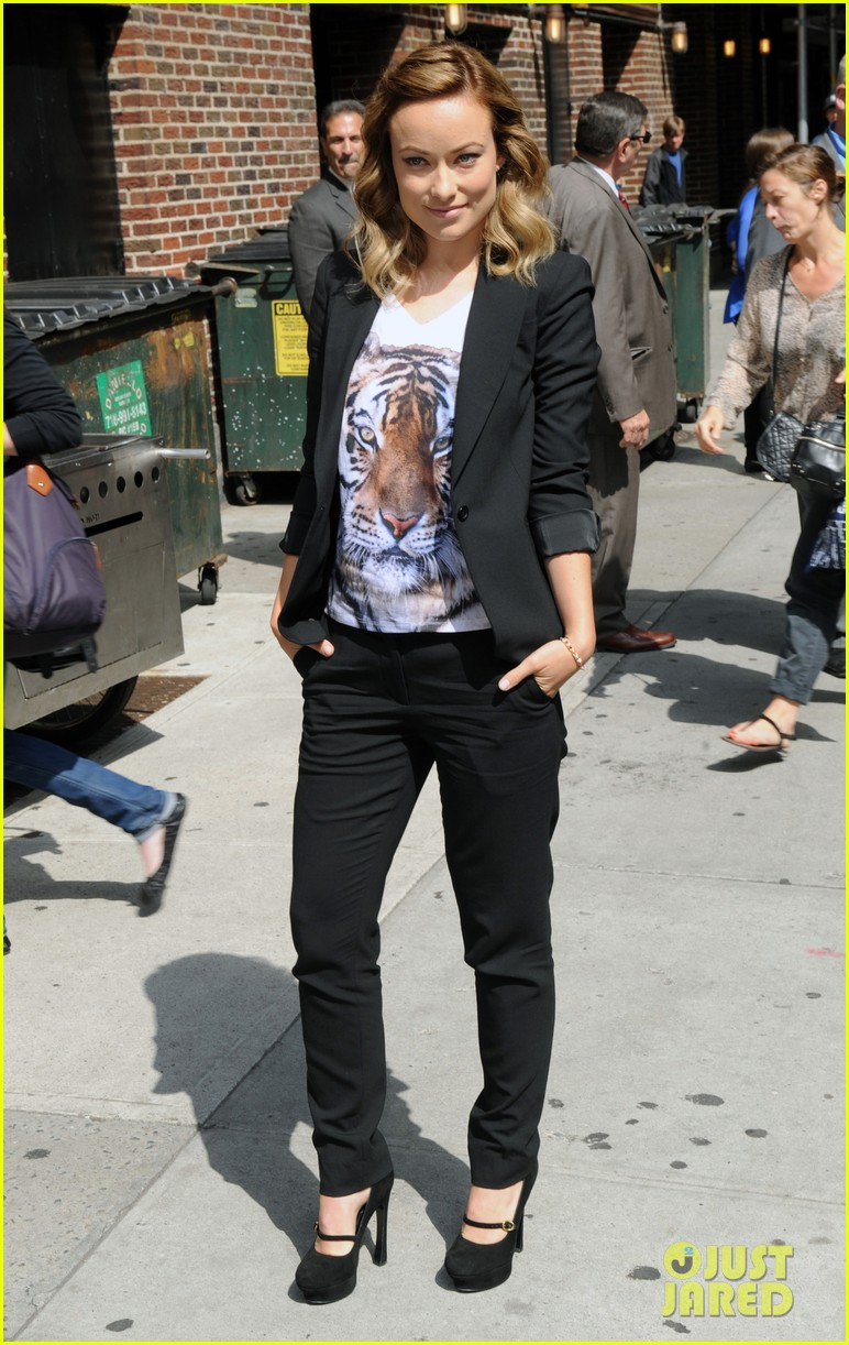 olivia wilde letterman 01