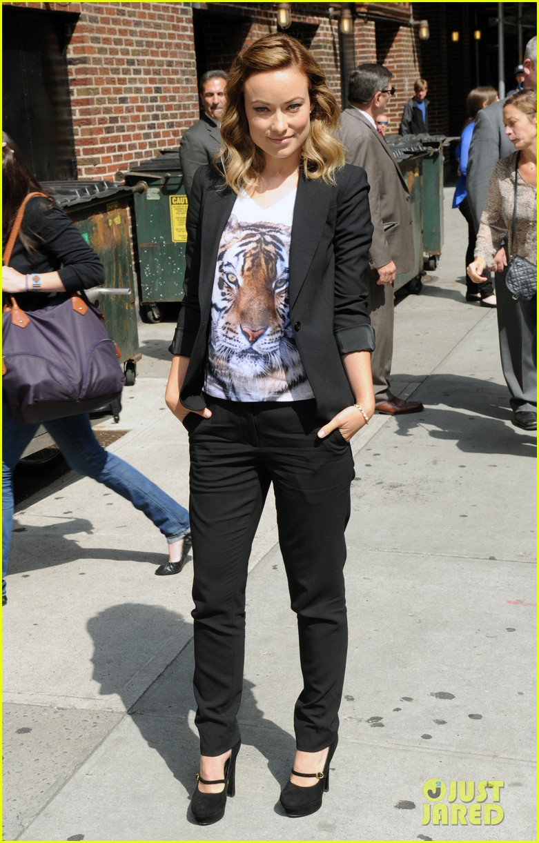 olivia wilde letterman 11