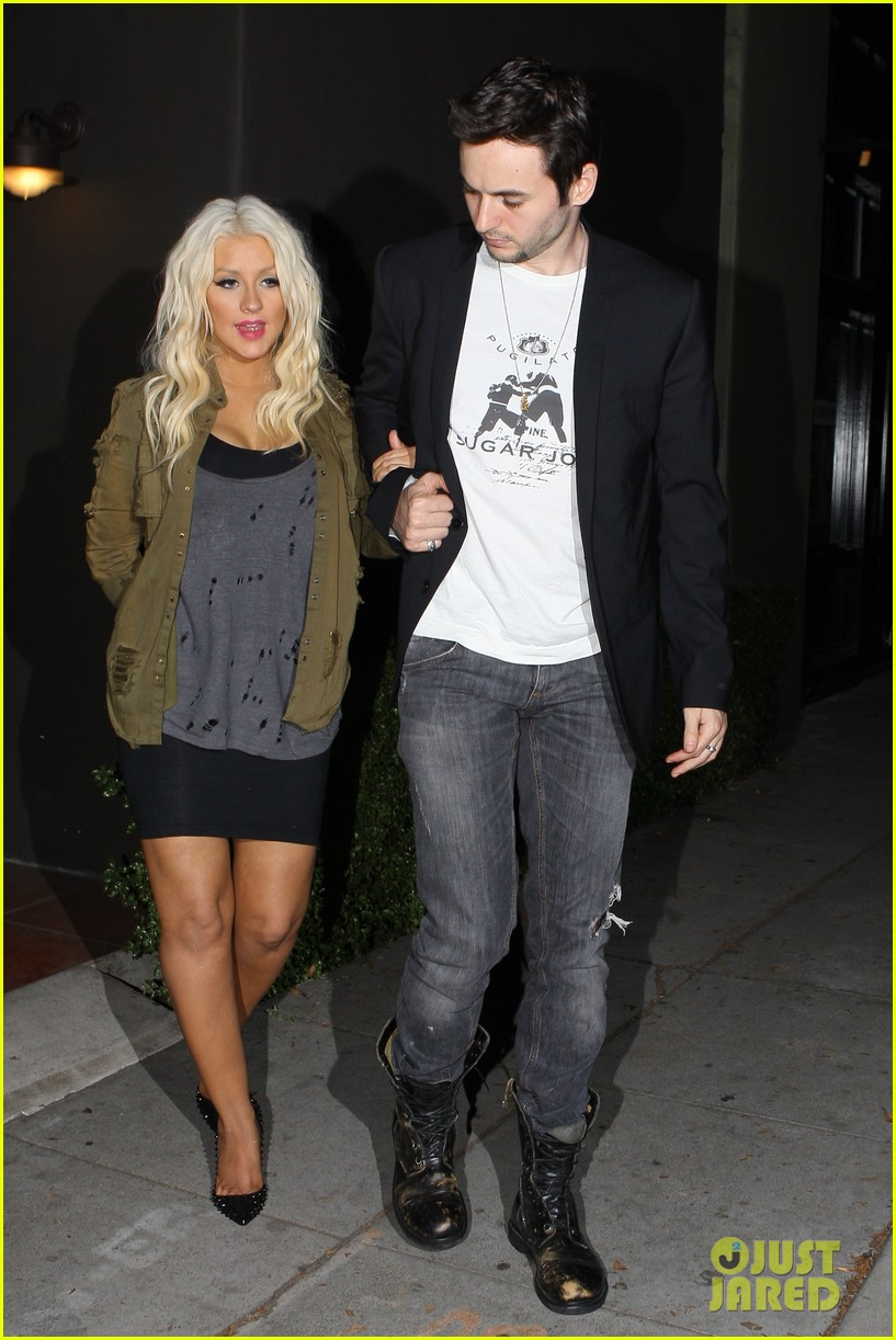 christina aguilera osteria mozza with matthew rutler 012692756