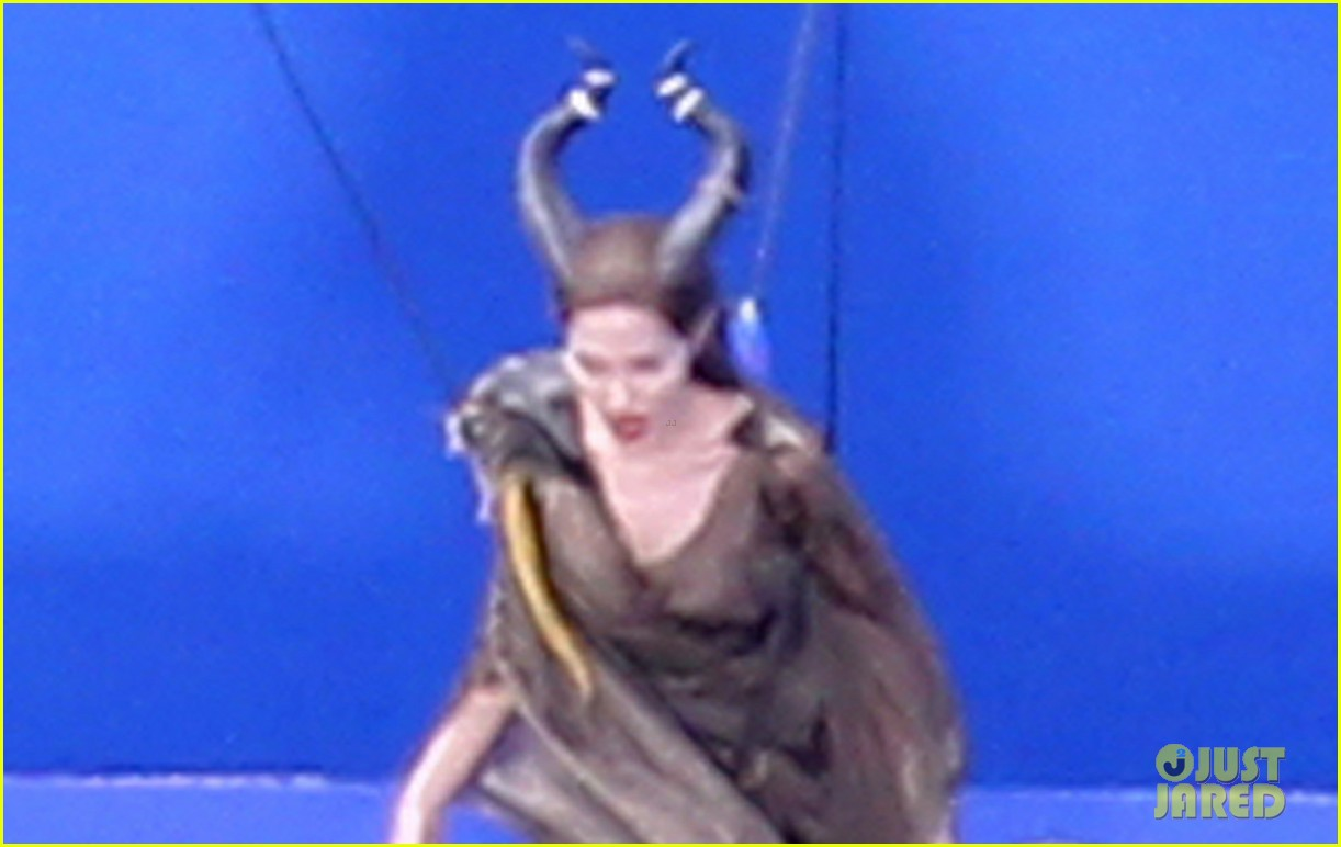 angelina jolie maleficent stunt work 01