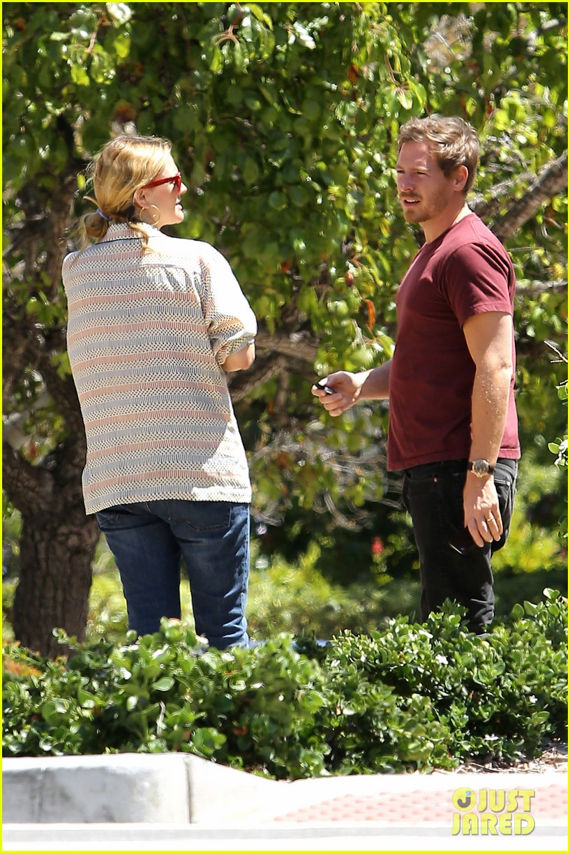 drew barrymore candle shopping with will kopelman 03