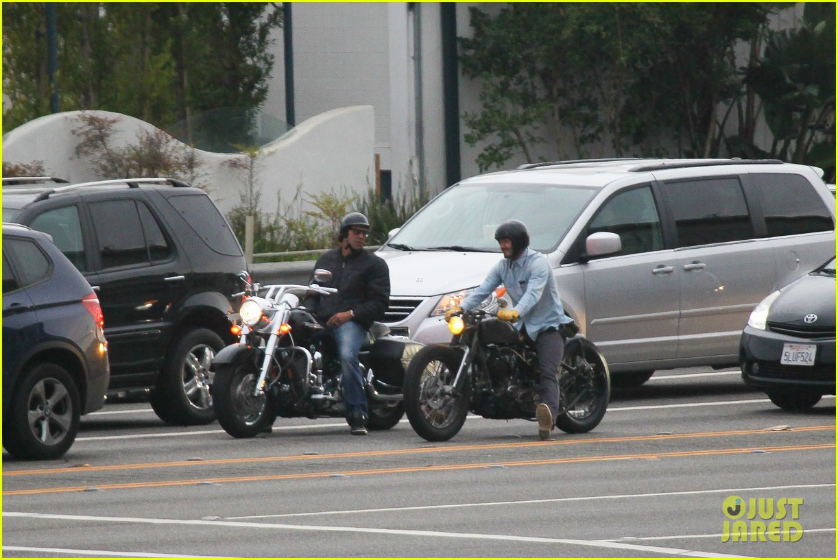 david beckham motocicletas de crucero 05