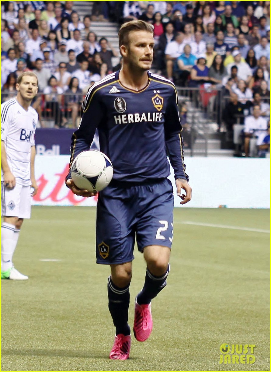 david beckham win against vancouver 14