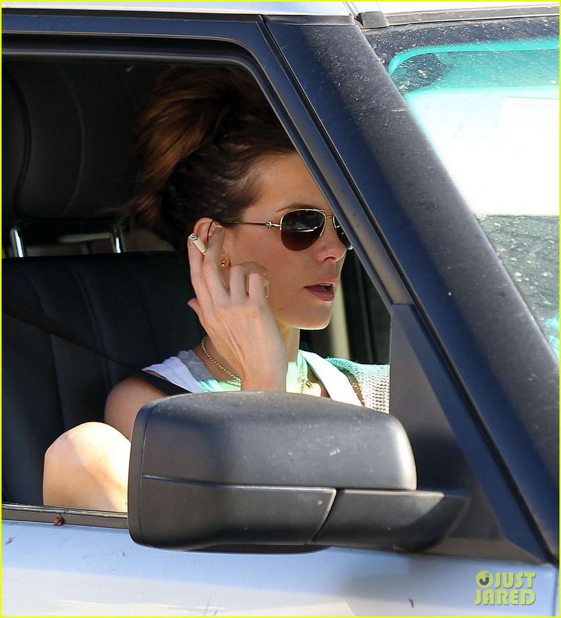 kate beckinsale len wiseman brentwood country mart 08