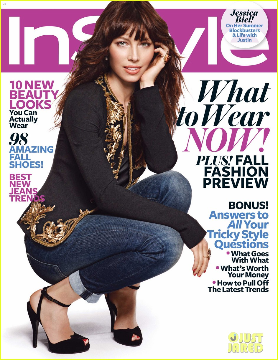 jessica biel talks justin timberlake with instyle