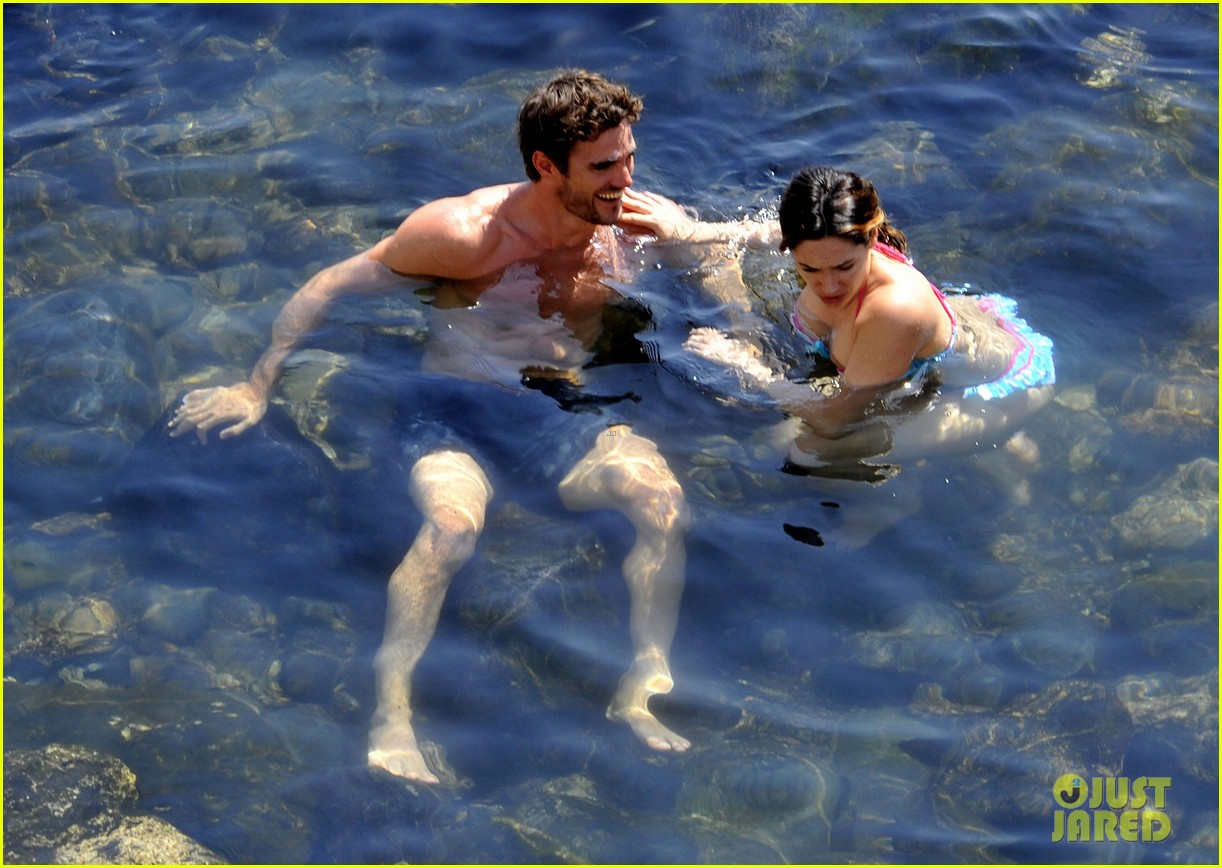 kelly brook thom evans ischia boat ride 09