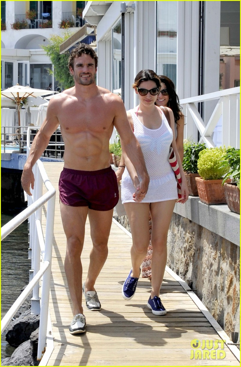 kelly brook thom evans ischia boat ride 20