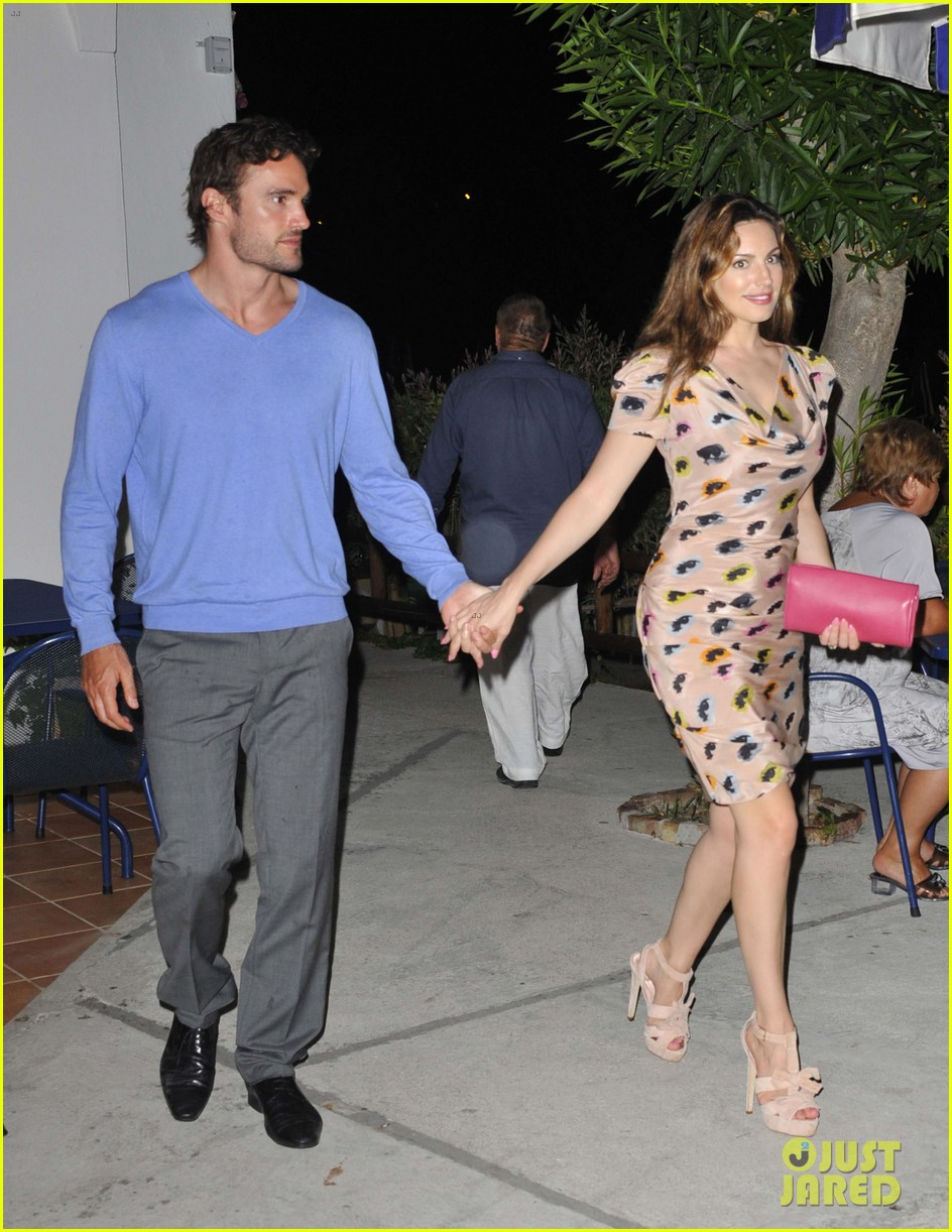 kelly brook thom evans ischia boat ride 252686468