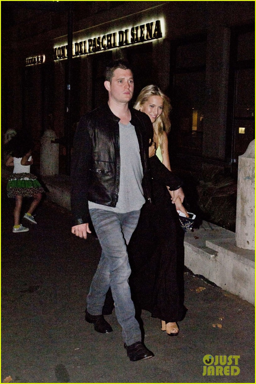 michael buble luisana lopilato playful parioli pair 042691390