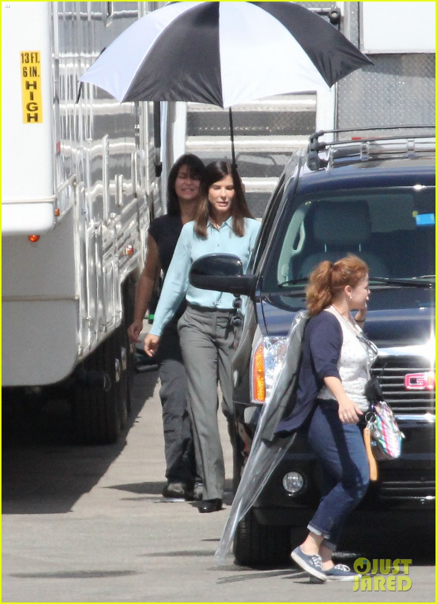 sandra bullock buddy cop film heat begins filming 062683725