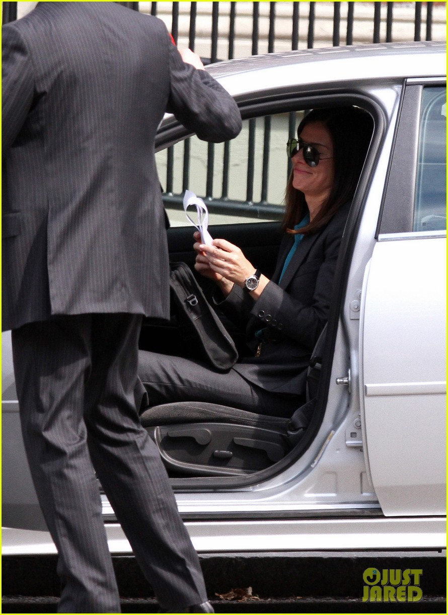 sandra bullock the heat set with melissa mccarthy 242689718
