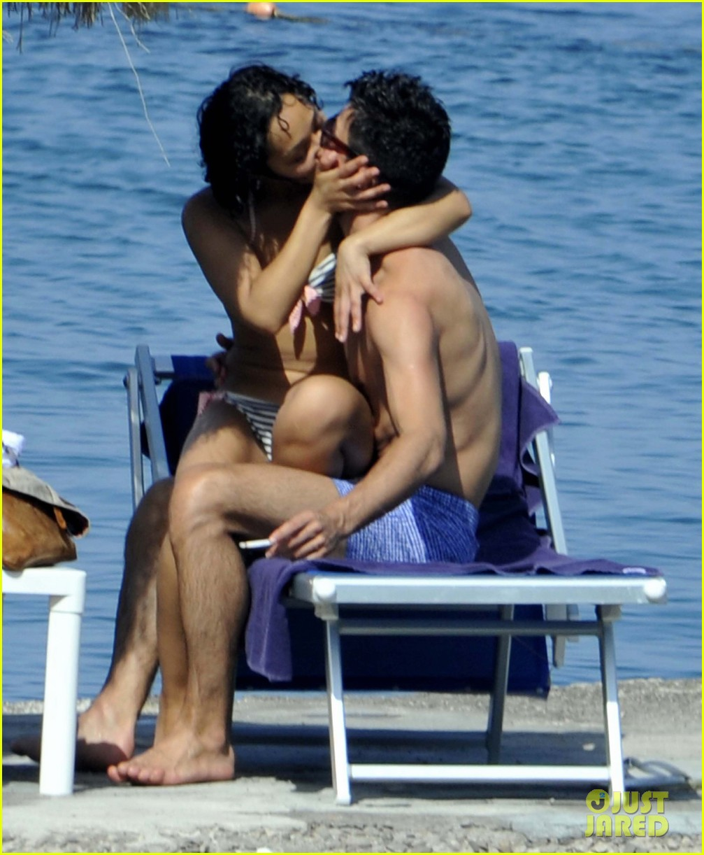 dominic cooper shirtless pda filled vacation with ruth negga 17