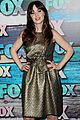 zooey deschanel mindy kaling fox all star party 16