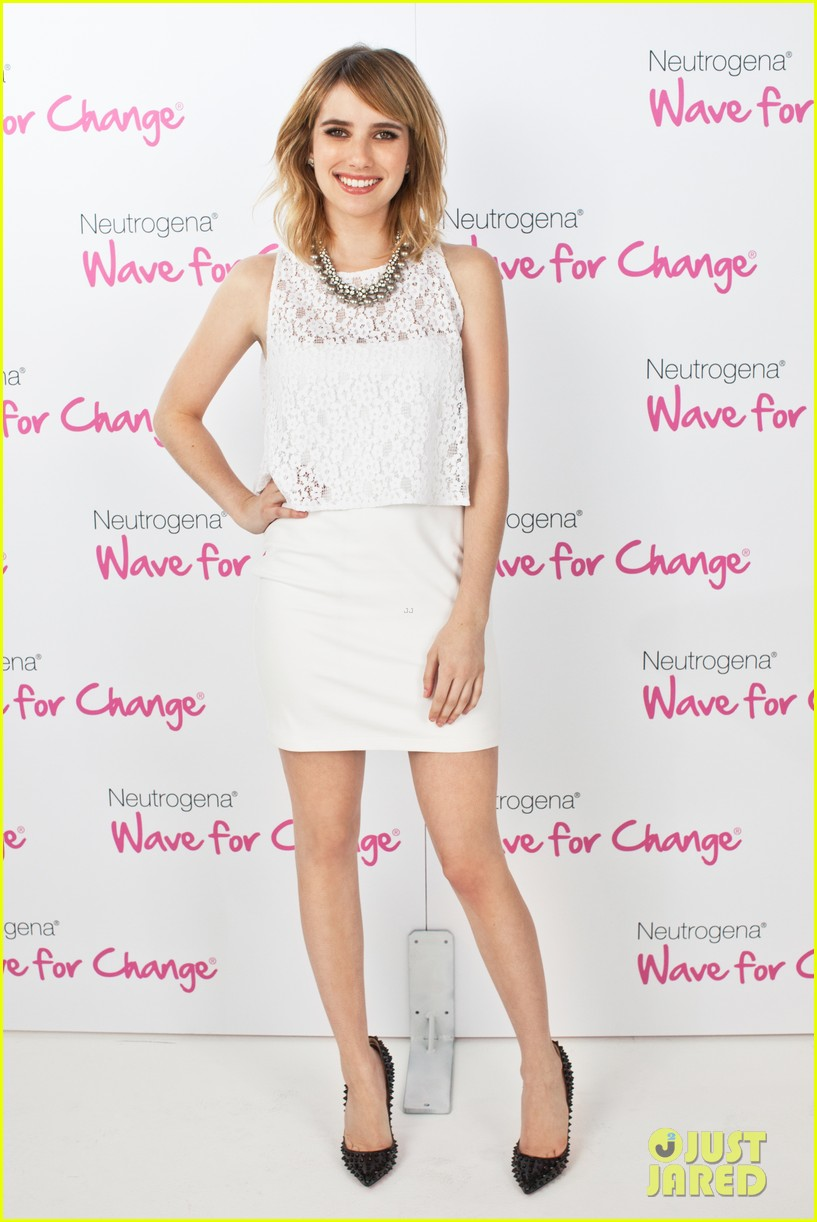 emma roberts hayden panettiere neutrogena wave for change 06