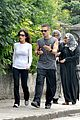 colin farrell morning stroll with sis claudine 08