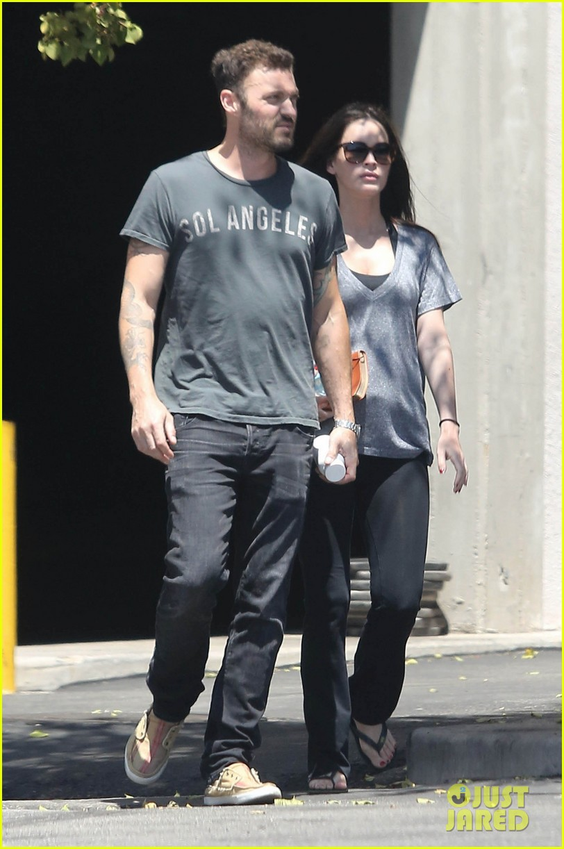 megan fox brian austin green lunch with kassius 06