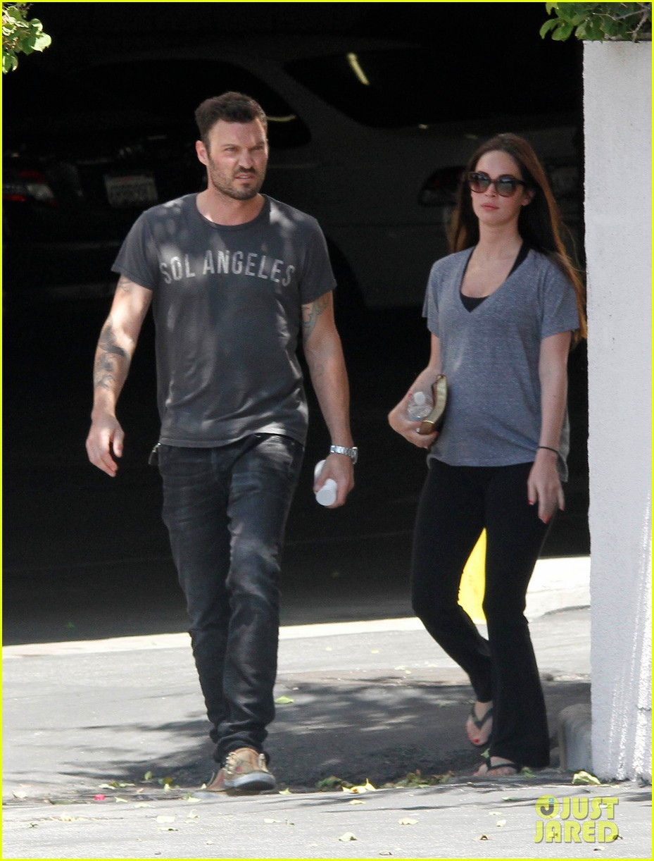 megan fox brian austin green lunch with kassius 13