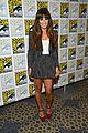 lea michele glee cast hits comic con 2012 12